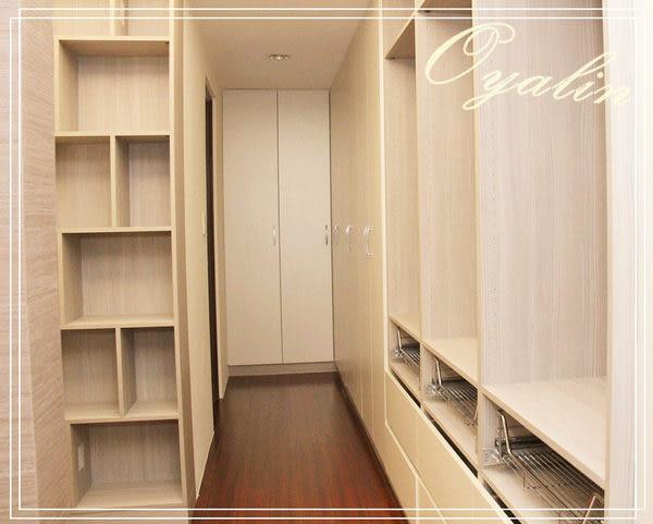 【歐雅 系統家具 】簡單中帶豐富更衣室選配配件及層板交錯