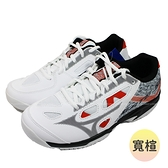 (C2) MIZUNO 美津濃 寬楦 羽球鞋 GATE SKY PLUS男女鞋 膠底室內鞋71GA204054 [陽光樂活]