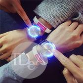 IDEA 韓風觸控LED閃光錶 生日  對錶 情侶 創意 男錶 女錶 進口 ins IG 情人節