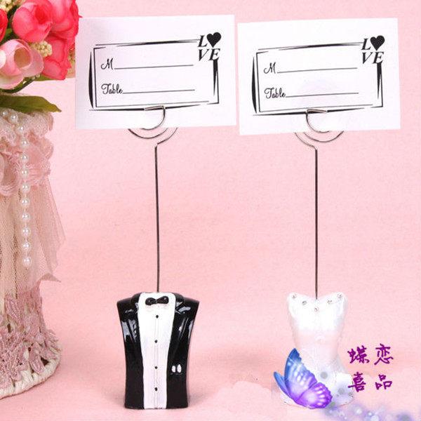 F0536 婚慶婚禮用品結婚布置會議布置 席位夾喜卡夾名片夾桌卡 花園神燈