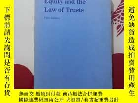 二手書博民逛書店Equity罕見and the law of trustsY248636