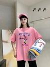 圓領短T 小兔印花短袖T恤女ins潮韓版寬松百搭半袖上衣MA119 胖妹大碼女裝