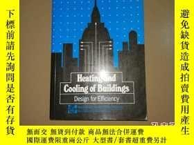 二手書博民逛書店Heating罕見and Cooling of Building