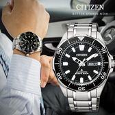 【人文行旅】CITIZEN 星辰    NY0070-83E 紳士風格 自動上鍊鈦金屬機械錶