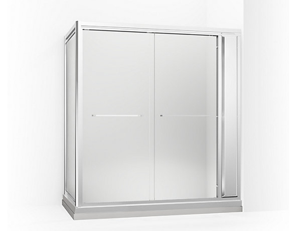 【麗室衛浴】美國KOHLER Parallel™型 K-45398T-L   L型 兩固一活 三片式  淋浴房 目錄及說明書