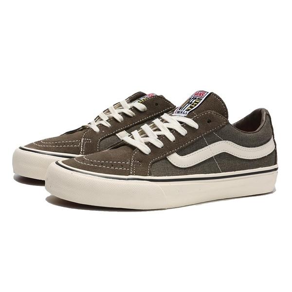 VANS 休閒鞋 板鞋 棕 麂皮 OFF THE WALL標 男女 (布魯克林) VN0A4UW12V7