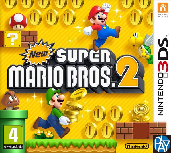 3DSLL-新超級瑪利歐兄弟2 日文版 PLAY-小無電玩