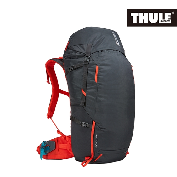 THULE-AllTrail系列45L男用登山包-曜石黑