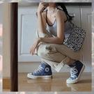 復古豹紋包包女2020春夏新款小眾法式單肩包斜跨手提包腋下手拎包 快意購物網
