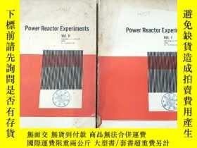 二手書博民逛書店power罕見reactor experiments I+II合售(P2793)Y173412