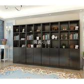 辦公家具經理辦公室文件柜木質資料柜壁柜靠墻大書柜展示柜子定制