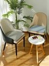 家用北歐新款輕奢椅坐墊餐桌椅墊售樓處休閑沙發椅子墊薄款座墊 ATF 魔法鞋櫃