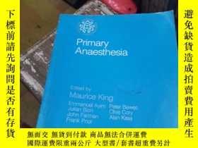 二手書博民逛書店Primary罕見Anaesthesia初級麻醉Y697 出版2