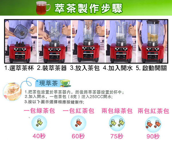 ★WRIGHT萊特★營業專用多功能萃茶機 WB-T820AE(220V)