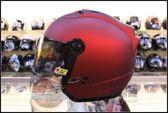 [中壢安信]SOL SL-27S SL27S 素色 消光糖果紅 安全帽 半罩式安全帽 再送好禮2選1 簡配價