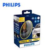PHILIPS飛利浦 超晶亮 LED霧燈黃金光-H8/H11/H16H8/H11/H