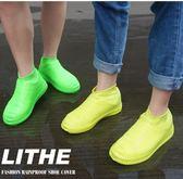 矽膠鞋套雨鞋套男女鞋套防水雨天防水鞋套防雨鞋套加厚防滑耐磨底