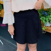 YoYo 中大尺碼褲裙 寬鬆胯大腿粗女生短褲(XL-4L)【AH1054】