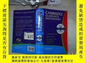 二手書博民逛書店CAMBRUDGE罕見LEARNER S DICTIONARY 劍橋學習詞典(595)Y203004
