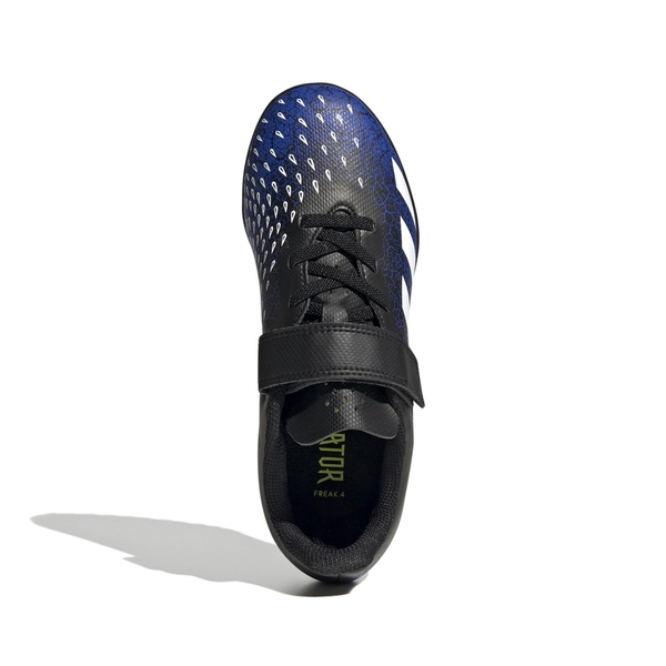 adidas足球鞋 男童足球鞋 小釘足球鞋 PREDATOR FREAK.4 TURF 室外足球鞋 人工草皮 足球運動鞋 大童 T9308