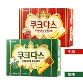 韓國 CROWN 法式薄燒夾心餅 72g 牛奶/咖啡【BG Shop】2款可選