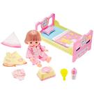 ◆ 日本第一暢銷寶貝娃娃-小美樂新品上市  ◆ 內含專用的床、睡衣、棉被等豐富配件!