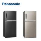 【南紡購物中心】Panasonic國際牌 579L無邊框鋼板冰箱 NR-B589TV