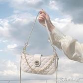 腋下包 奶茶色腋下包女包包2020新款潮法國質感流行小包包百搭網紅斜背包