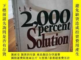 二手書博民逛書店The罕見2000 Percent Solution: Free