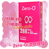 保險套 情趣用品 Zero-O (激點螺紋)『金鼠報喜』