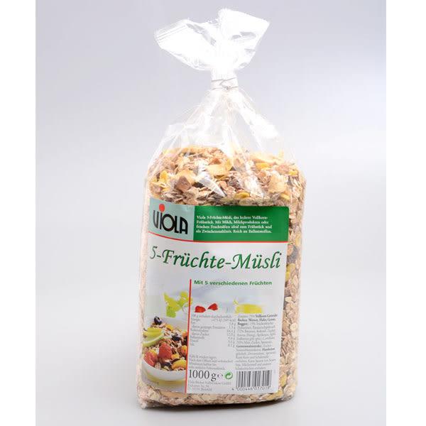 德國【VIOLA】綜合水果穀片1000g