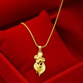 【獨愛精品】日韓時尚18年新品鍍金仿金女士款項鍊(鎖骨小花) 飾品 手鍊 腳鍊 練繩