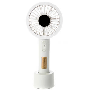 日本 Toffy LED Aroma 電風扇 象牙白 型號TF83-LFAN-AW