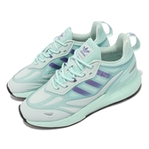 adidas 休閒鞋 ZX 2K Boost 2.0 W 綠 湖水綠 女鞋 愛迪達 復古慢跑鞋 【ACS】 GZ7826