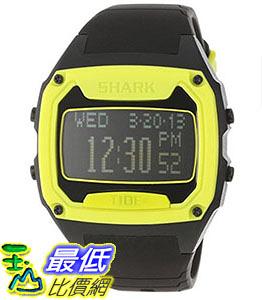 [106美國直購] Freestyle 手錶 Unisex 101998 B00B78WNGS Shark Oversized Digital Tide Strap Black Watch