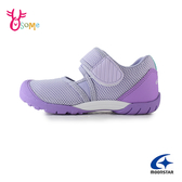 Moonstar月星女童鞋 月星HI系列機能鞋 童機能鞋 女童運動鞋足弓 童休閒鞋 J9638#紫色◆OSOME奧森鞋業