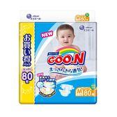 【GOO.N】新版NHK境內版紙尿褲(阿福狗)M80片x3串/箱-箱購