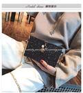 【亮片側背包】韓版鍊條小方包 時尚個性盒...