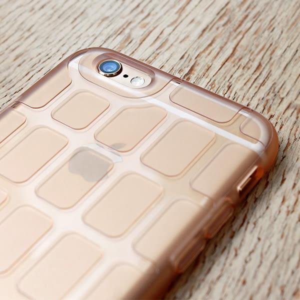 iPhone 6/6s Plus 手機殼 5.5吋【Pebbles 石尚規則 - 霧透粉茶】- WaKase