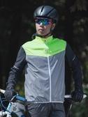 騎行服 洛克兄弟騎行馬甲反光騎行服背心自行車馬甲夜騎夜跑安全戶外夜光 非凡小鋪