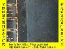 二手書博民逛書店英文古董書罕見A Commentary on the Old a