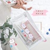 透明大容量鉛筆袋日系少女可愛國小文具盒【聚寶屋】
