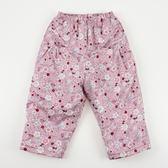 【愛的世界】防風小兔花園鋪棉磨毛長褲/4~8歲-台灣製- ★秋冬下著