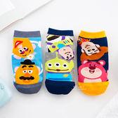 迪士尼好朋友色塊直版親子襪-玩具總動員系列 童襪 襪子