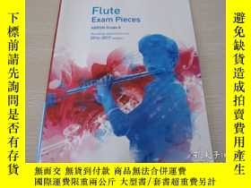 二手書博民逛書店Flute罕見Exam Pieces 2014-2017 2 C