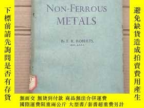 二手書博民逛書店the罕見extraction of non-ferrous metals(P1382)Y173412
