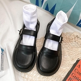 小皮鞋日系女jk春夏可愛復古英倫風百搭薄款制服單鞋【貼身日記】
