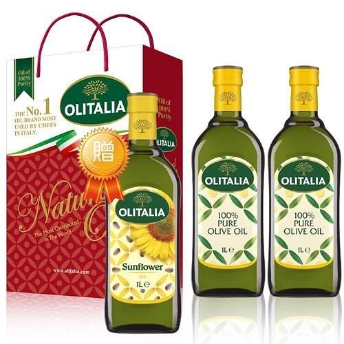 【南紡購物中心】奧利塔橄欖油禮盒組 (2罐/組) 2組贈2瓶葵花油