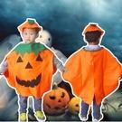 【BlueCat】萬聖節橘色南瓜派對變裝服裝 衣服 (小孩款)