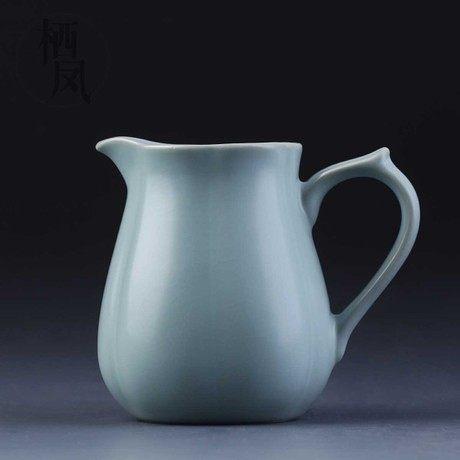 汝窯公道杯 汝瓷茶具